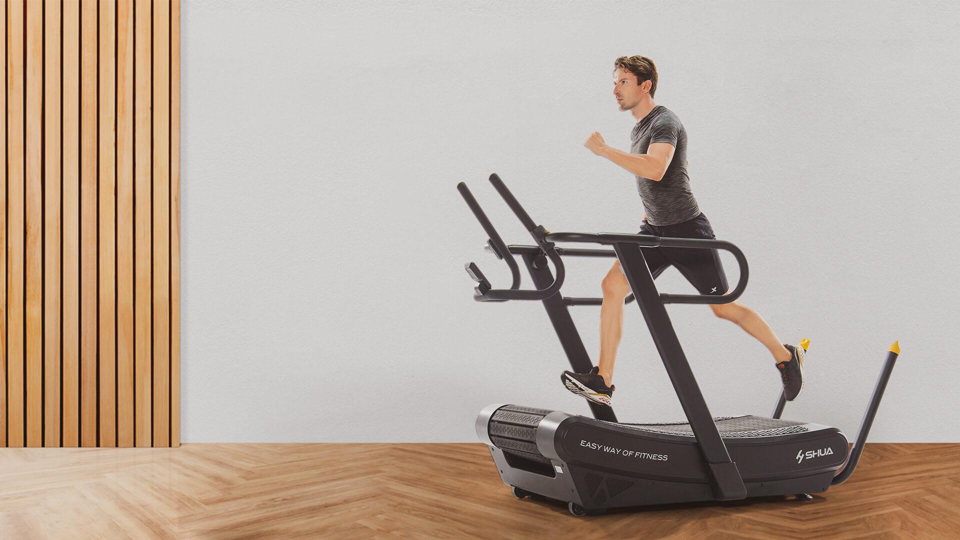 SHUA Curved Treadmill